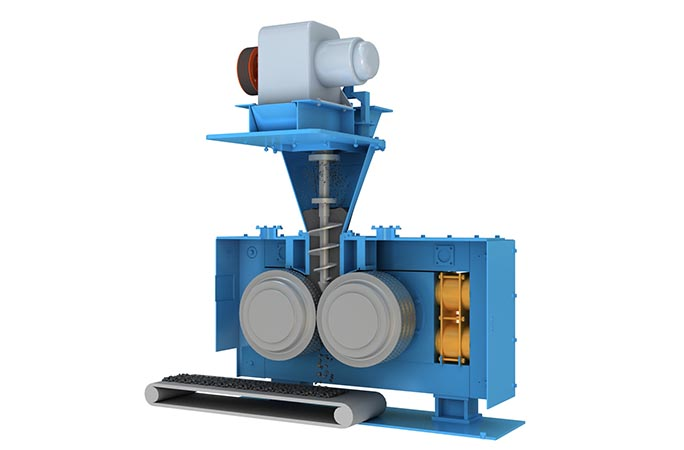 Mineral powder ball machine