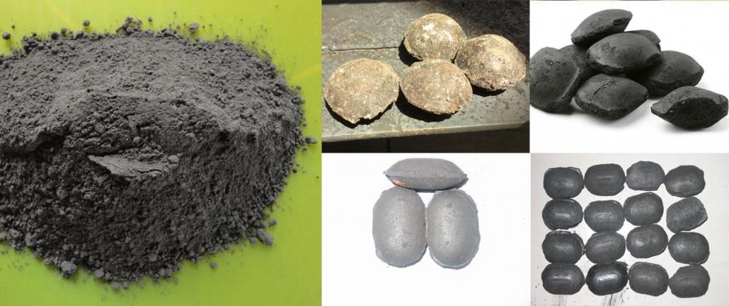 Chromium ore powder