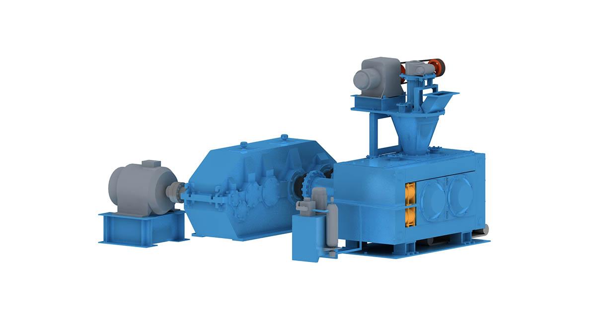 high-pressure briquetting machine