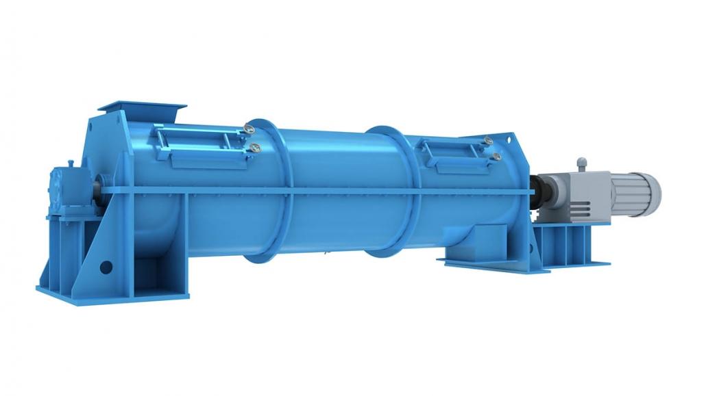 horizontal strong continuous crusher