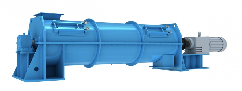 horizontal strong continuous crusher