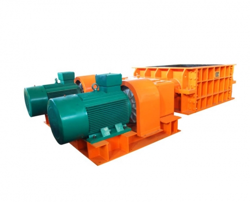 screening typed double teeth-roller crusher