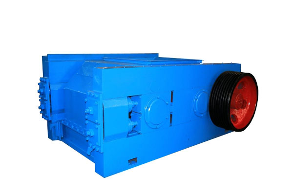 Double tooth roller crusher